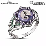 "Sterling silver The Nightmare Before Christmas ""Magic At Midnight"" Ring ($149)"