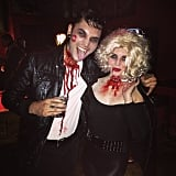 Bloody Sandy and Danny From Grease