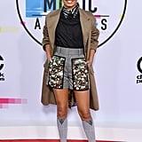 Yara Shahidi Outfit at the American Music Awards 2017