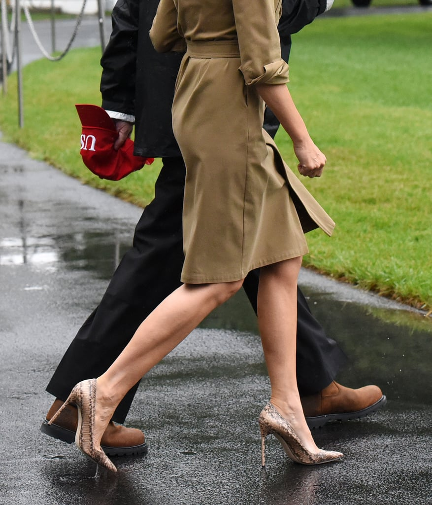 Melania Trump's Shoes