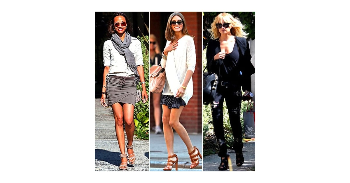 Best Celebrity Street Style Of 2011 Popsugar Fashion