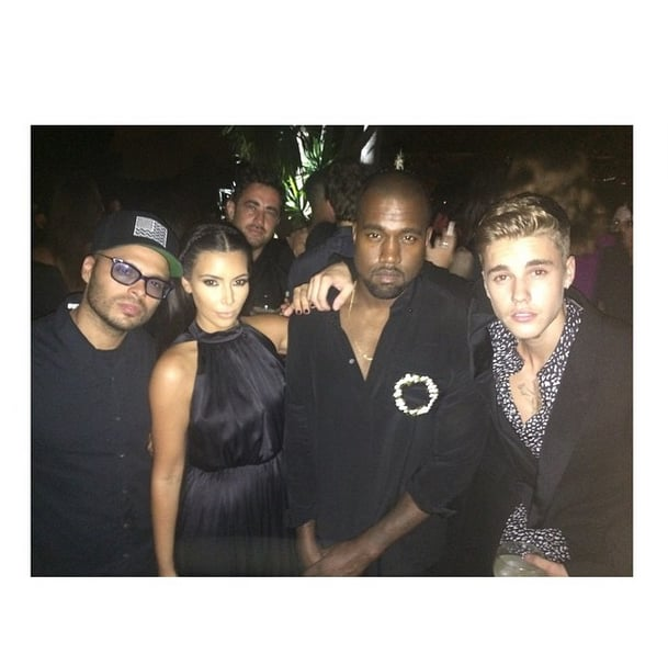 When He Partied With Justin Bieber