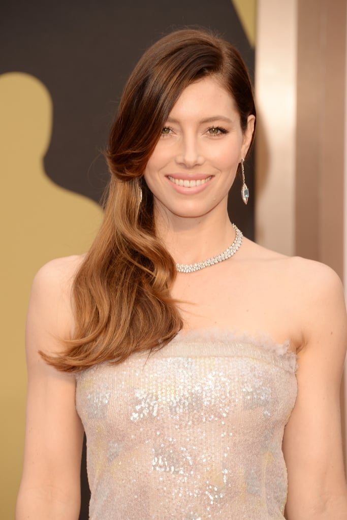 Jessica Biel at 2014 Oscars