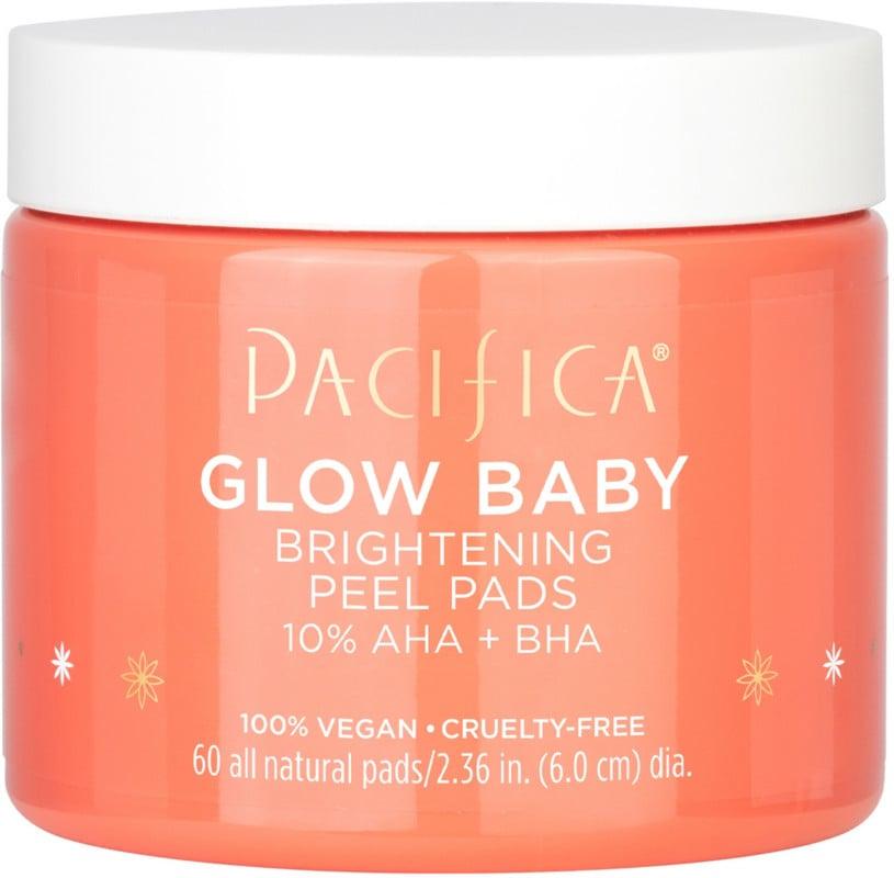 Pacifica Glow Baby Brightening Peel Pads 10% AHA + BHA
