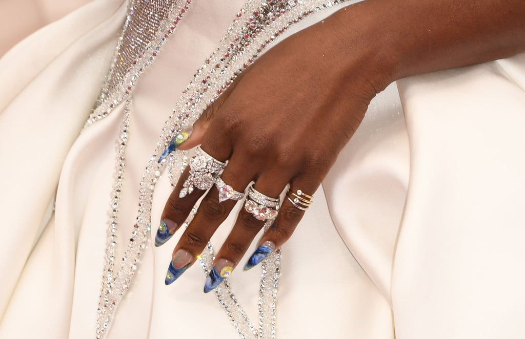 Cynthia Erivo's Starry Night Manicure at the 2020 Oscars