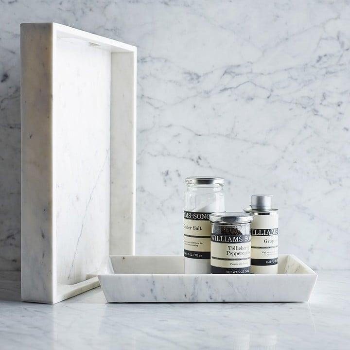 Williams-Sonoma Marble Tray ($80)