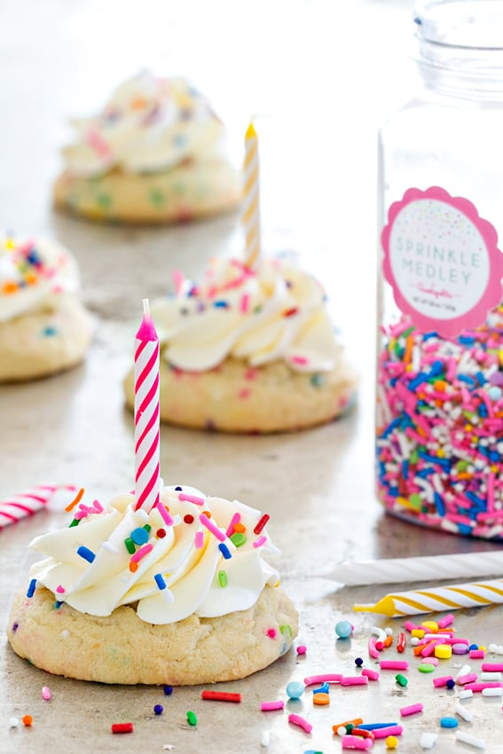 Birthday Cake Cookies Cake Mix Cookie Recipes Popsugar Food Photo 7