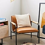 Wesley Faux Leather Lounge Chair