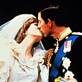 The royal tradition of a kiss on the balcony at Buckingham Palace was started by Charles and Diana.