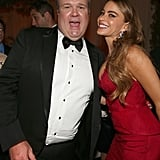 Eric Stonestreet and Sofia Vergara got wild at the Fox afterparty.