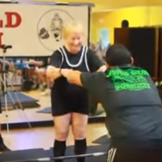 94-Year-Old Weightlifter