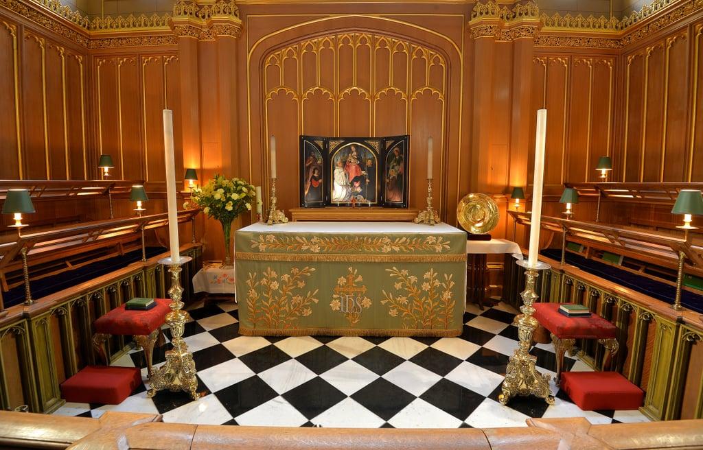 The Chapel Royal at St. James's Palace