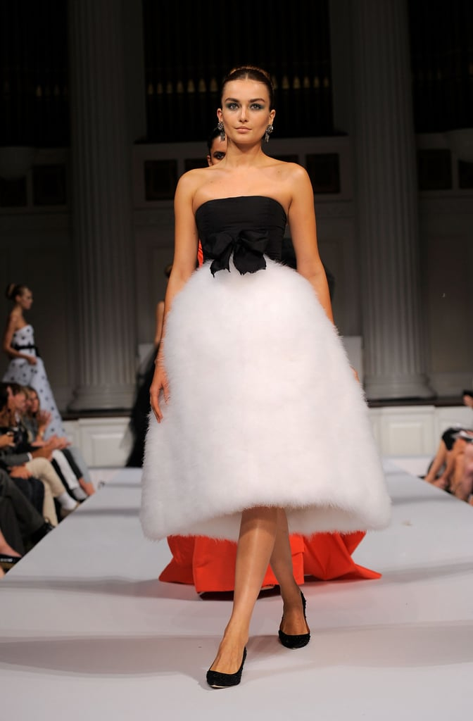 2011 Spring New York Fashion Week: Oscar De La Renta