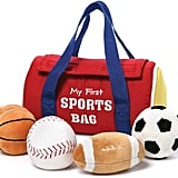 GUND Baby My First Sports Bag Stuffed Plush Playset