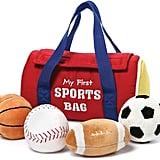Gund My 1st Sports Bag Playset