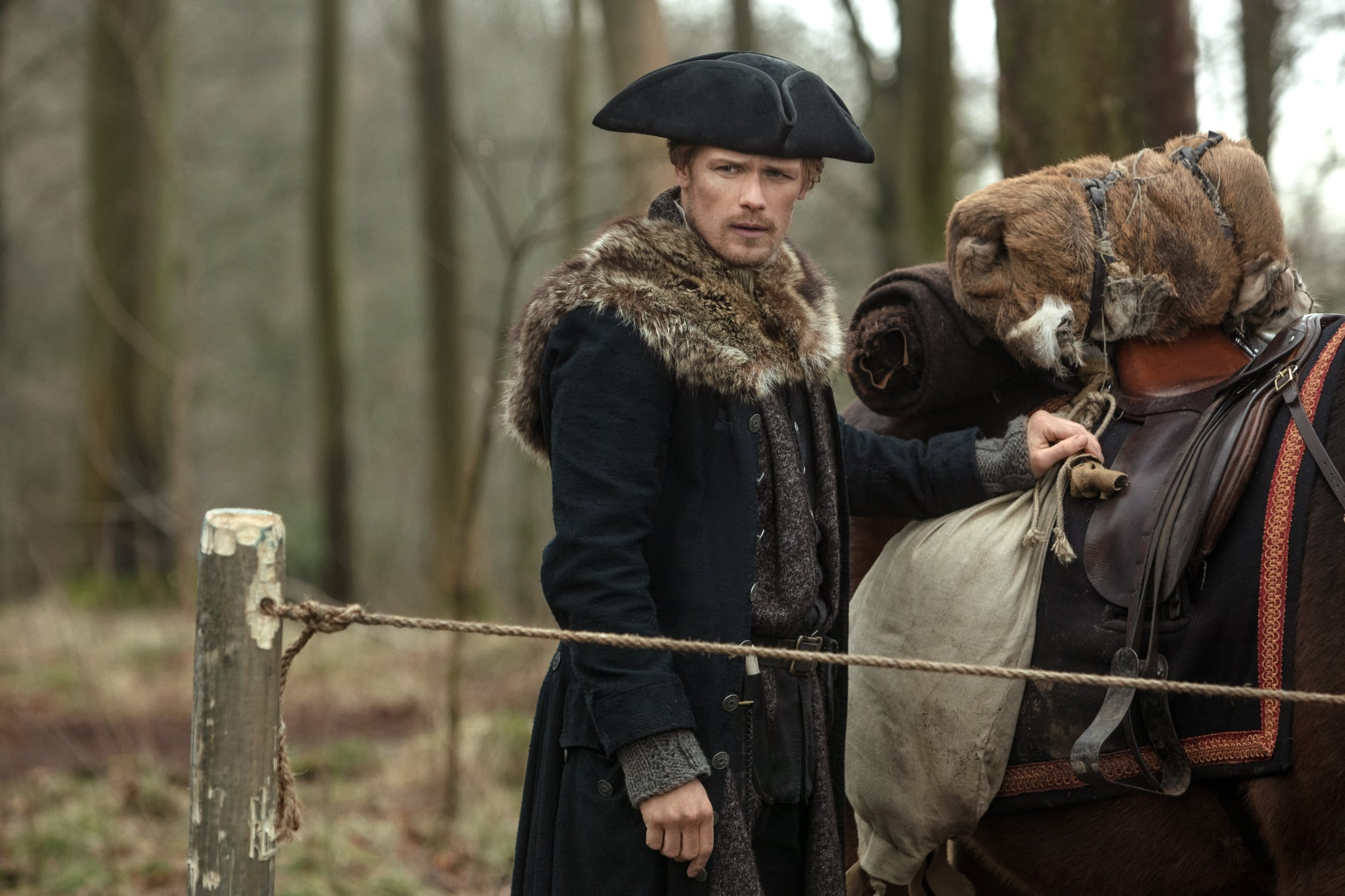 Outlander: Does William Know Jamie Is His Father? Sam Heughan Weighs In