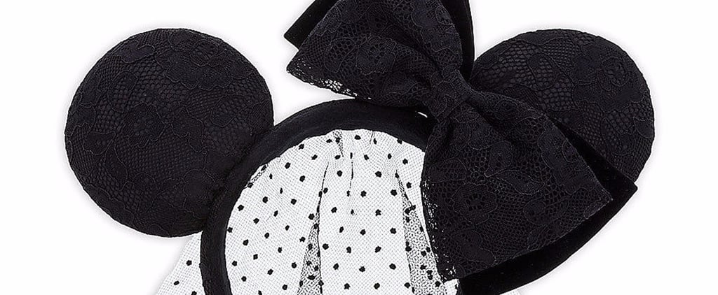 Black-Lace Minnie Mouse Ears