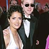 Salma Hayek and Edward Norton in 1999