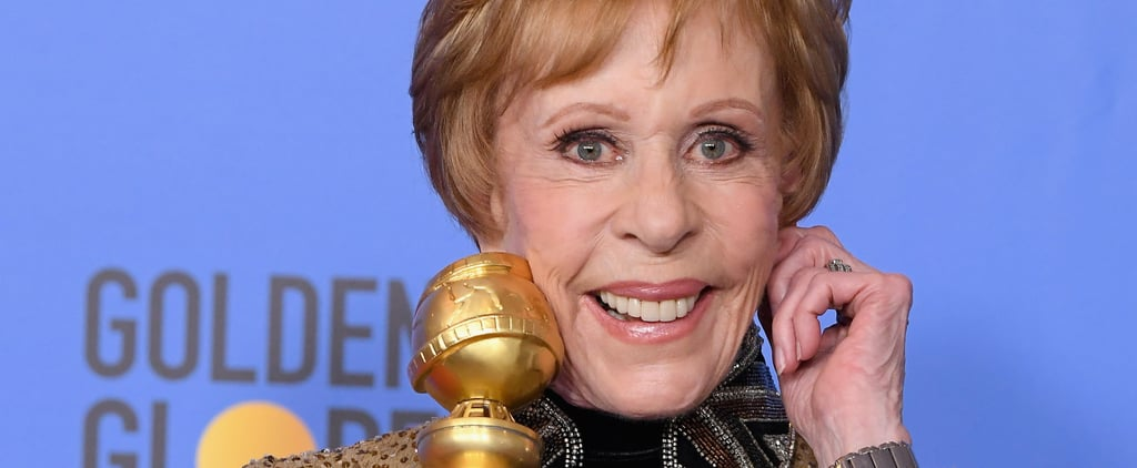 Why Did Carol Burnett Pull Her Ear at the Golden Globes 2019
