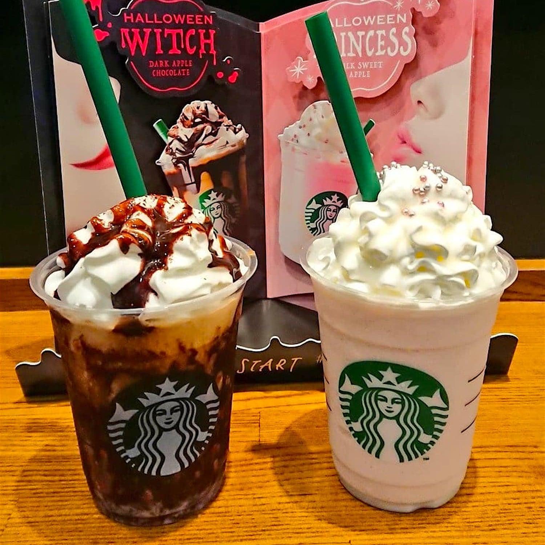starbucks japan halloween witch and princess frappuccinos | popsugar