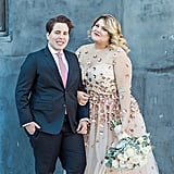 This Is Why Plus-Size Blogger Nicolette Mason Chose a Sheer Wedding Dress