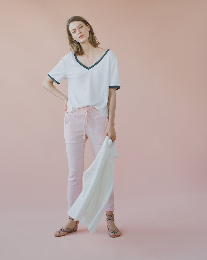 The softstretch linen pants