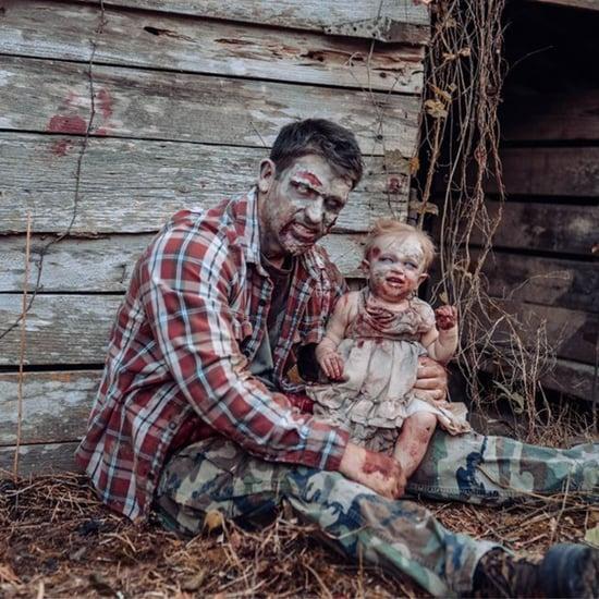 Mom's Zombie- and Halloween-Inspired Photo Shoot
