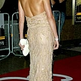 Charlize Theron showed some skin at the September 2003 premiere of The Italian Job.