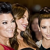 Kris Jenner, Kim Kardashian and Sofia Vergara posed together at the White House Correspondant's Dinner.
