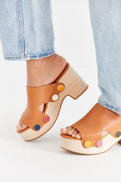 Charlotte Stone Marcel Leather Platform Sandals