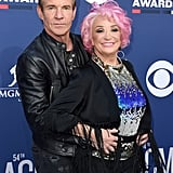 Pictured: Dennis Quaid and Tanya Tucker