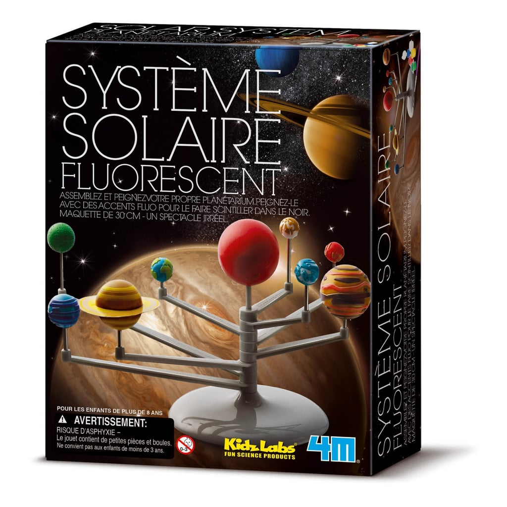 For 8-Year-Olds: Glow Solar System Kit Multicoloured 4M Toys and Hobbies Children