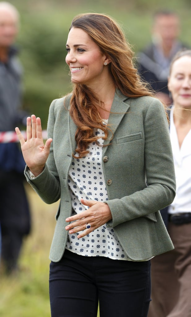 Kate Middleton and Prince William at Marathon Pictures