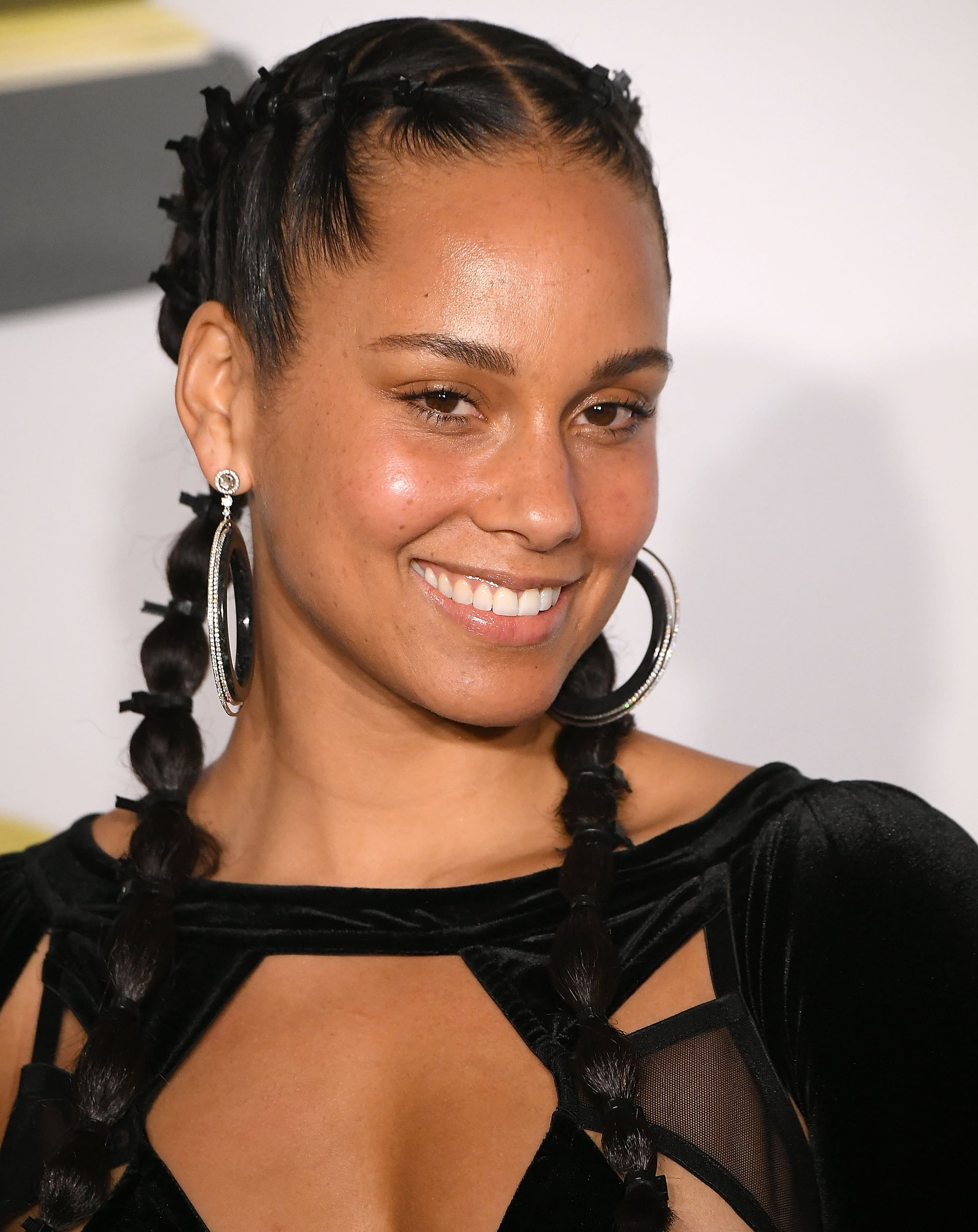 Alicia Keys Without Makeup | Alicia Keys Will Look Hot Without Makeup at the Grammys, and Here's Proof | POPSUGAR Beauty Photo 10