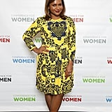 She wowed in a printed MSGM dress and Valentino heels at the Watermark Conference For Women in 2016.