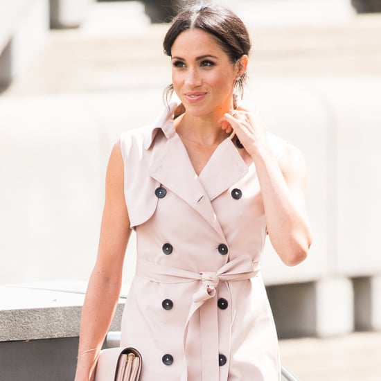 Meghan Markle Pink Dress Style