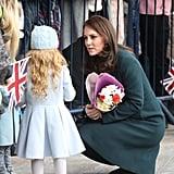 Kate Middleton and Prince William Sunderland February 2018