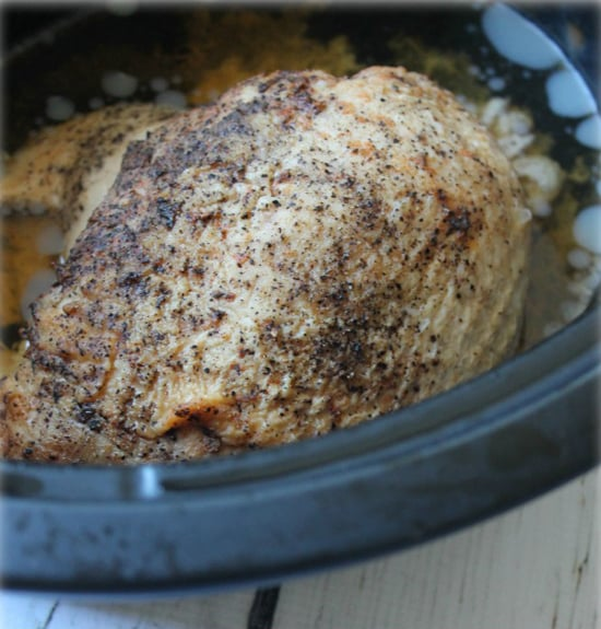 Cook Your Turkey in a Crockpot