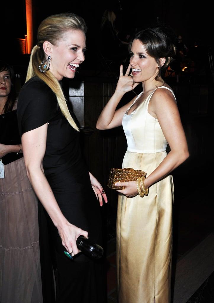 Jennifer Morrison and Sophia Bush