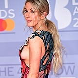 Ellie Goulding's Romantic Ponytail at the 2020 BRIT Awards