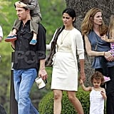Matthew McConaughey and Camila Alves Step Out in Austin With Levi and Vida