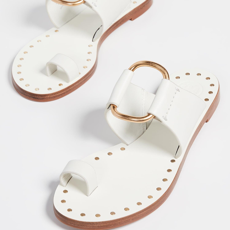 Flat Sandals 2019 | POPSUGAR Fashion