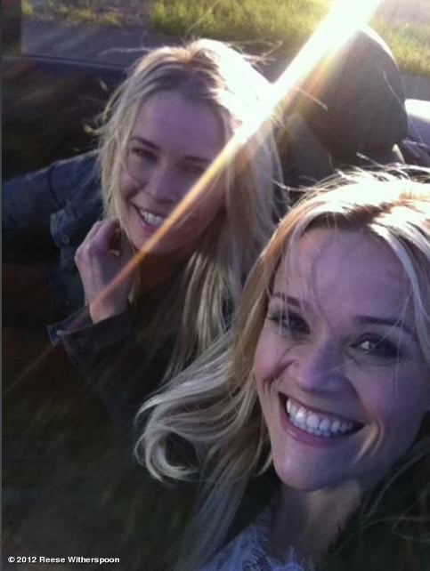 Reese Witherspoon and Chelsea Handler channelled Thelma and Louise in February. Reese Witherspoon on WhoSay