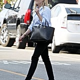 Reese Witherspoon headed to lunch at Brentwood Country Mart.