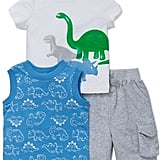 Dinosaur Tee, Tank Top and Shorts Set