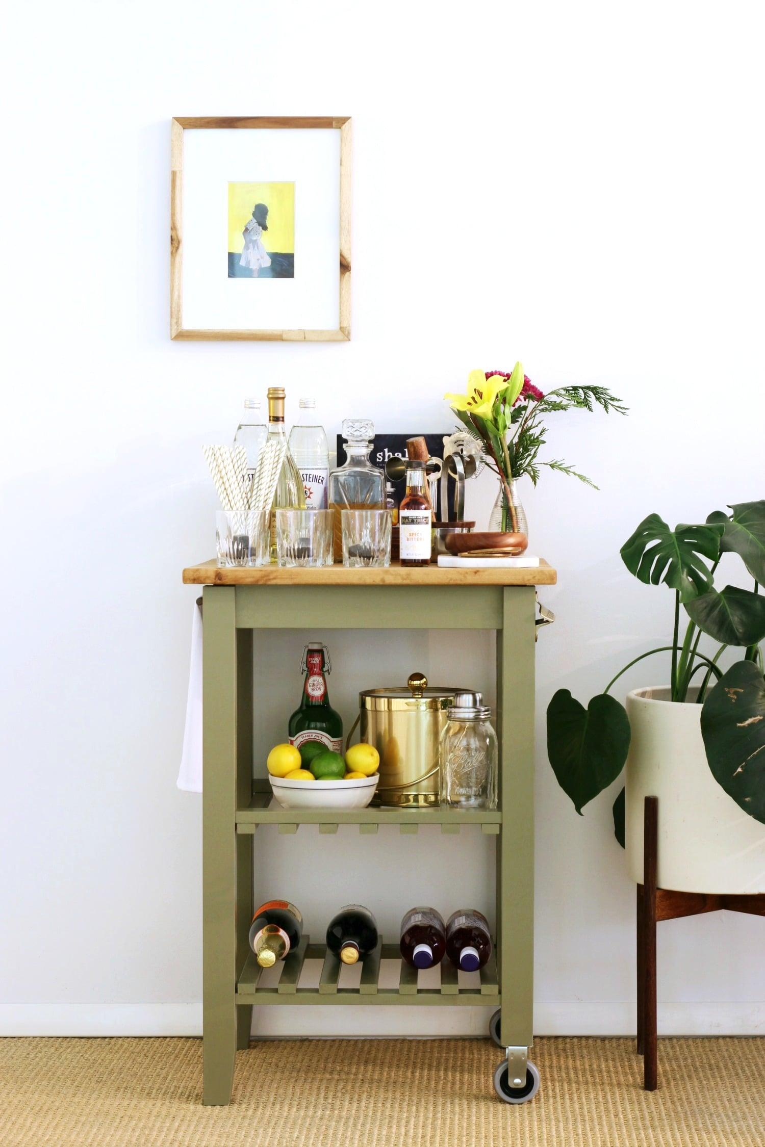 Ikea Kitchen Bar Cart Hack Popsugar Home Australia