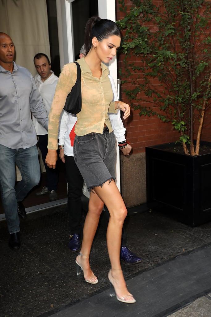 Kendall Jenner At Fashion Week Spring 2019 Popsugar