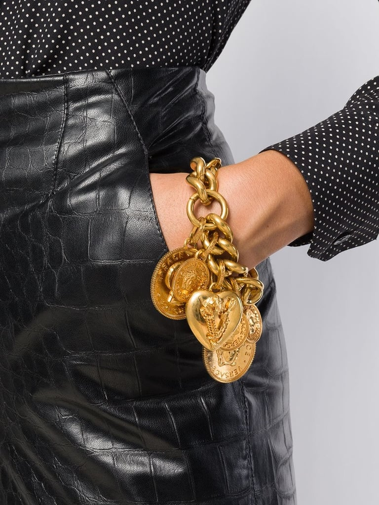 Versace Coin Charm Bracelet