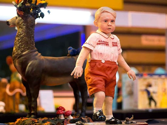 Cute Enough to Eat! British Baker Reveals Why She Decided to Craft a Lifelike Prince George Cake