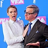 Blake Lively and Paul Feig